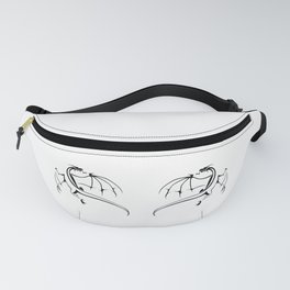 A simple flying dragon Fanny Pack