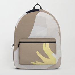 COCKATOO BIRD LOW POLY ART Backpack