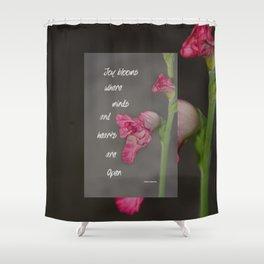 Joy Blooms Shower Curtain