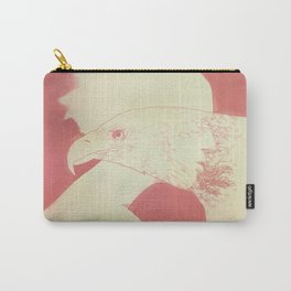 """""""Once I Was an Eagle"""" by Justin Hopkins Carry-All Pouch"""