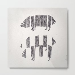 Secetur porcus Metal Print