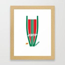 Lancia Stratos Rally Alitalia Framed Art Print