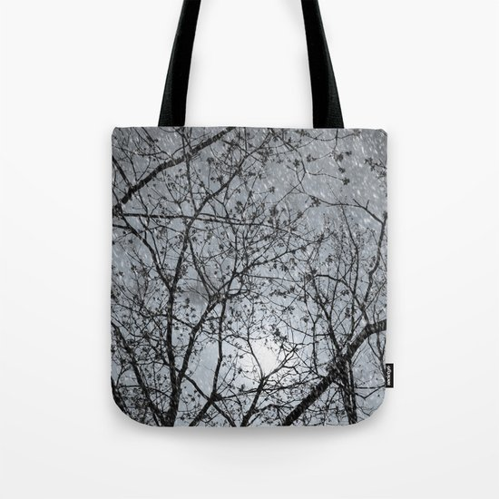 Oh Snowy Night Tote Bag