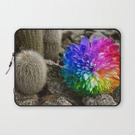 flower in the desert Laptop Sleeve