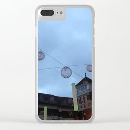 Canterbury Town Clear iPhone Case