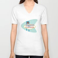 sin city V-neck T-shirts featuring Sin City by khalan