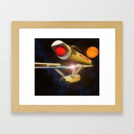 Enterprise Framed Art Print