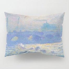 Claude Monet's Waterloo Bridge Pillow Sham