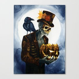 Shadow Man 4 Canvas Print