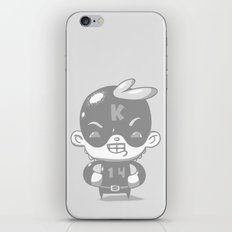 Kaptain 14: Whiteout Edition iPhone & iPod Skin