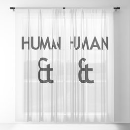 Human et – Humanity Sheer Curtain