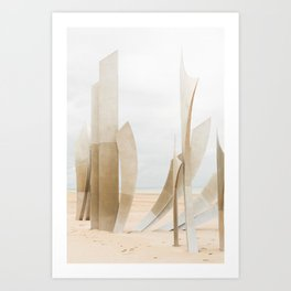 Remember D-Day Art Print