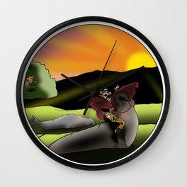 Matt the Conqueror Wall Clock