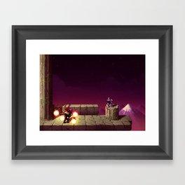 Ninja Gaiden Framed Art Print