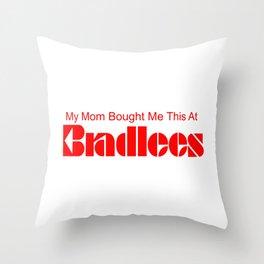 Bradlees Throw Pillow