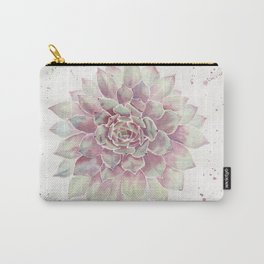 Big Succulent Watercolor Carry-All Pouch