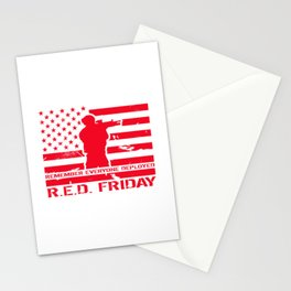 RED Friday Stationery Cards