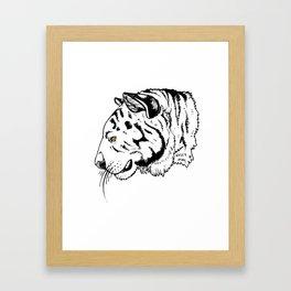 El Tigre Framed Art Print