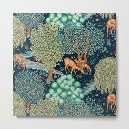 """William Morris """"The Brook"""" Metal Print"""