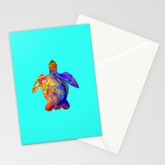 Psychedelic Sea Turtle Stationery Cards
