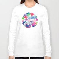 garden Long Sleeve T-shirts featuring Garden by DuckyB