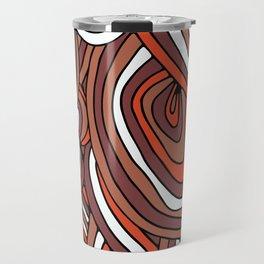 Abstract pattern design Travel Mug