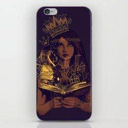 THE BELIEF OF CHILDHOOD iPhone Skin