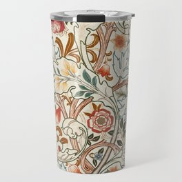 Modern poster-William Morris-Vegetable print 6. Travel Mug