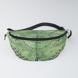 Green clover Fanny Pack