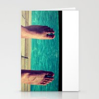 feet Stationery Cards featuring Feet by Devin Stout