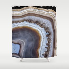 Mocha Agate 3294 Shower Curtain