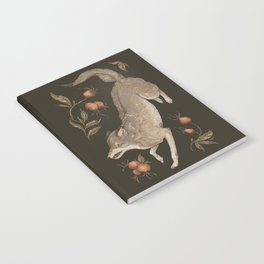 The Wolf and Rose Hips Notebook