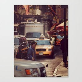 A LAMA IN NEW YORK ***  NEVER STOP EXPLORING VIII Canvas Print