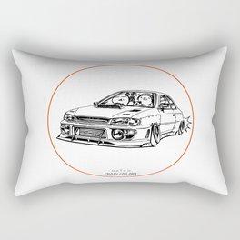 Crazy Car Art 0195 Rectangular Pillow