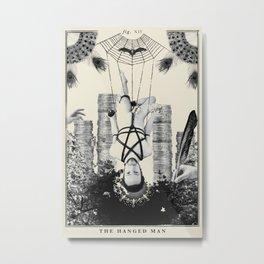 Fig. XII - The Hanged Man Metal Print