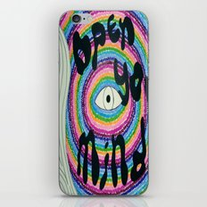 Open Your Mind iPhone & iPod Skin