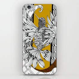 Eager Hummingbird iPhone Skin