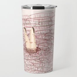 the possible causes of your suffering Travel Mug