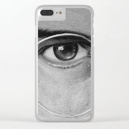 Steve Jobs Eye Clear iPhone Case