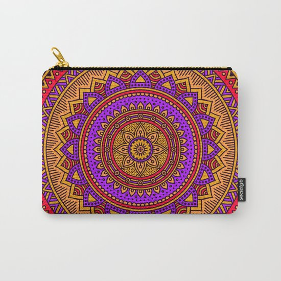 Hippie mandala 51 Carry-All Pouch