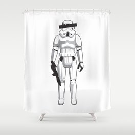 Anonymous Disposables #1 Shower Curtain