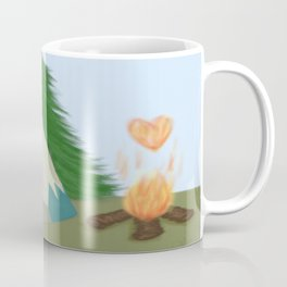 The Lone Fox Coffee Mug