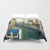 venice Duvet Covers featuring Venice by Mr and Mrs Quirynen