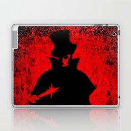 Jack the Ripper Blood Background Laptop & iPad Skin