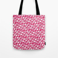 lace Tote Bags featuring Lace by Mr and Mrs Quirynen