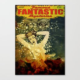 Famous Fantastic Mysteries Canvas Print