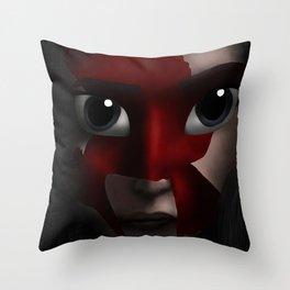 Katniss Throw Pillow