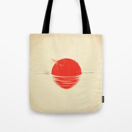 """Japan relief poster/all proceeds will go to """"Peace Winds"""" Tote Bag"""