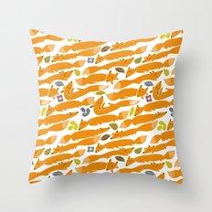 Kitsune Throw Pillow