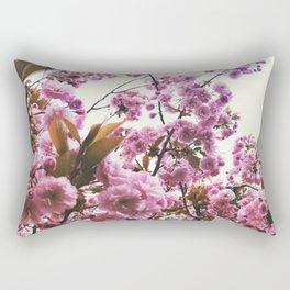 pink blossom Rectangular Pillow